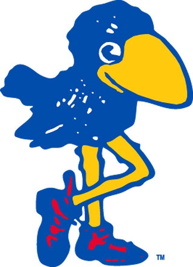 1912 kansas jayhawk mascot logo college mascots big 12