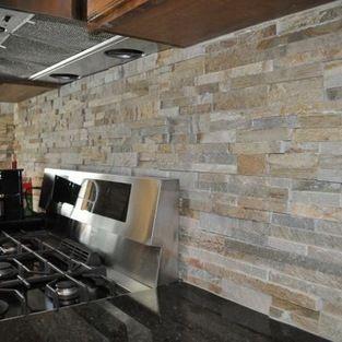 Stone Backsplash Design Ideas Pictures Remodel And Decor