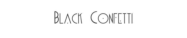 Bougie contre les moustiques aux huiles essentielles - Black Confetti