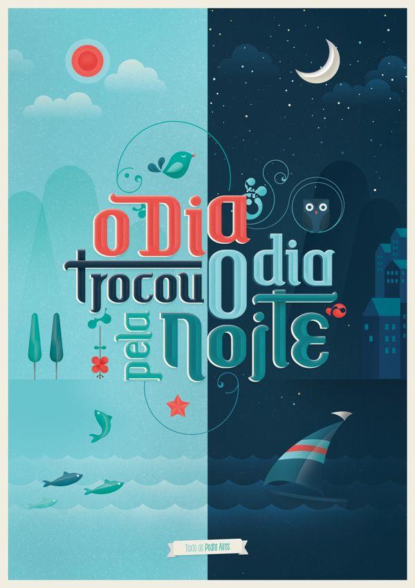 Inspiração Tipográfica #130 - Choco la Design | Choco la Design | Design é como chocolate, deixa tudo mais gostoso.