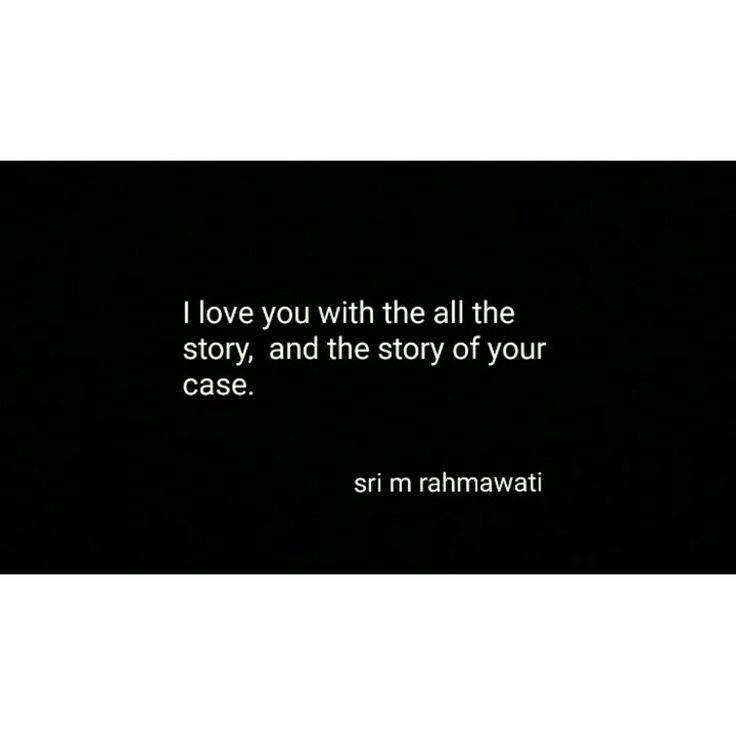 Aku mencintaimu dengan segala apa yang kau punya.