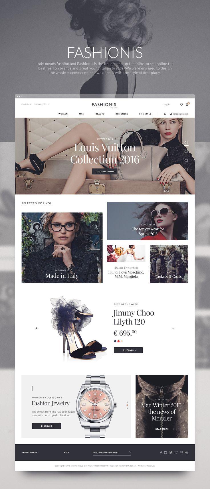 Fashionis on Web Design Served