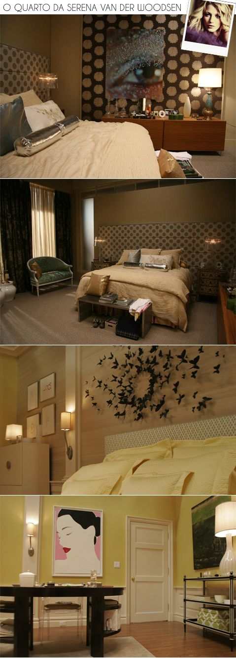 serena's room. love 3rd one down!