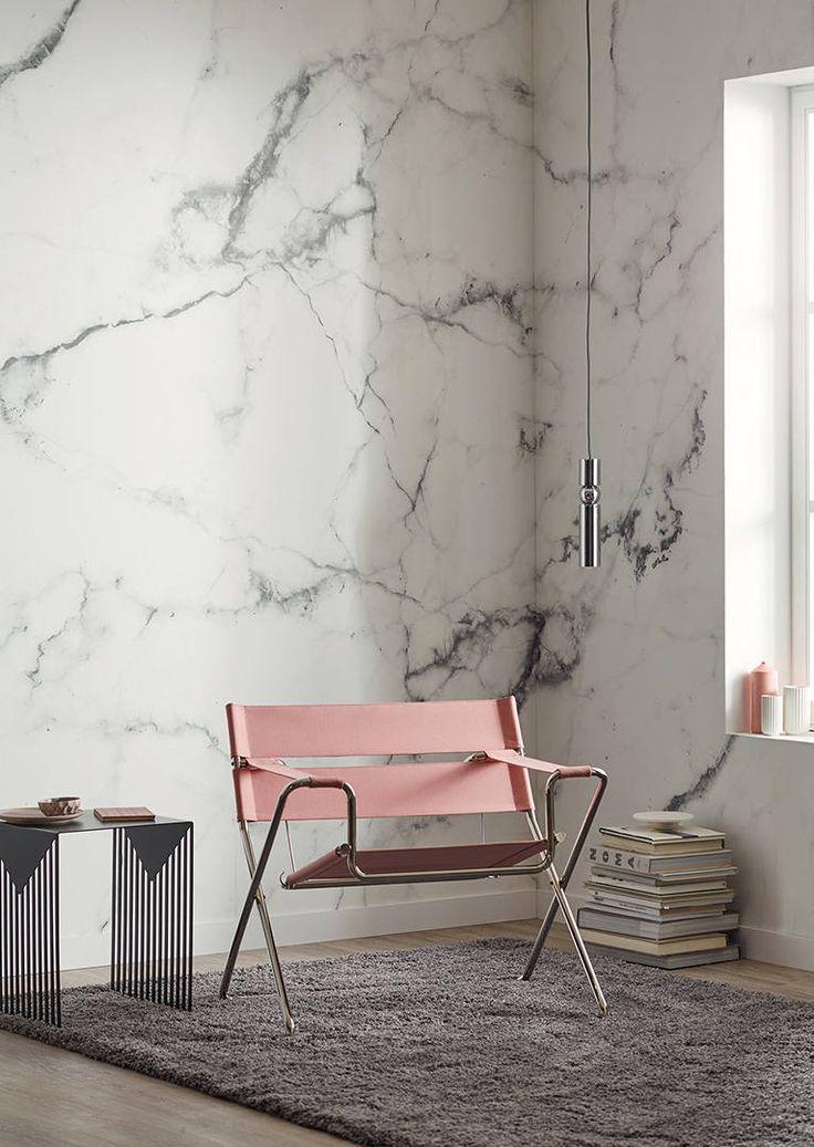 Schöner Wohnen Fototapete «Marmor» 470924 in 2019 | Trendfarbe ...
