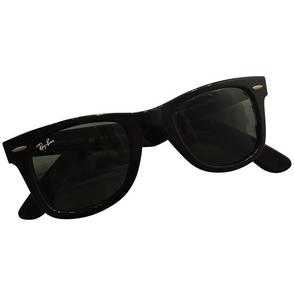 SUNGLASSES RAY-BAN (183 420 LBP) ❤ liked on Polyvore featuring accessories, eyewear, sunglasses, ray ban sunglasses, ray ban sunnies, ray ban eyewear and ray ban glasses