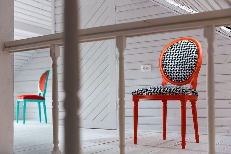 Beautiful chairs from Photoliu, upholstered in Dedar and Dinozoli fabrics! Shop here: http://shop.photoliu.com/