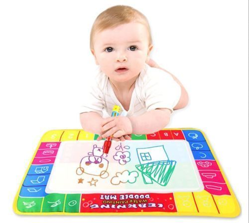 Children Toy Water Drawing Painting Writing Mat Board & Magic Pens Doodle CBAU