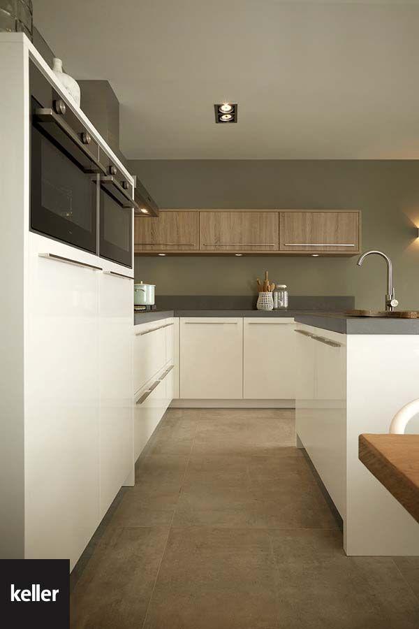 Witte Keukens Met Scandinavische Pastels Ademen Sfeer En Karakter In Deze Witte Keuken Vormen Frisse Witte En Gr Keuken Witte Hoogglans Keuken Moderne Keukens