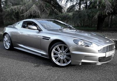 Aston Martin, a girl can dream right?