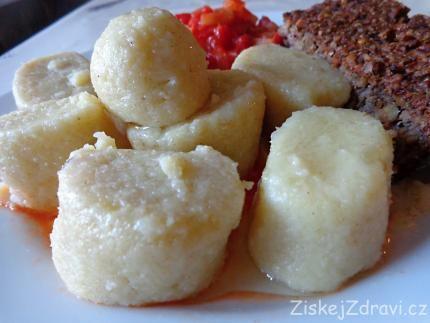 Bramborové knedlíky zdravě - ZiskejZdravi.cz