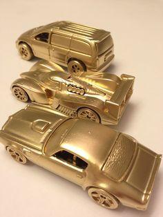 Gold Hot Wheels