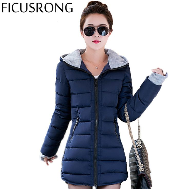2016 New Wadded Jacket Female Women Winter Jacket Down Cotton Coat Slim Parkas Ladies Plus Size Womens Jackets And Coats TD2