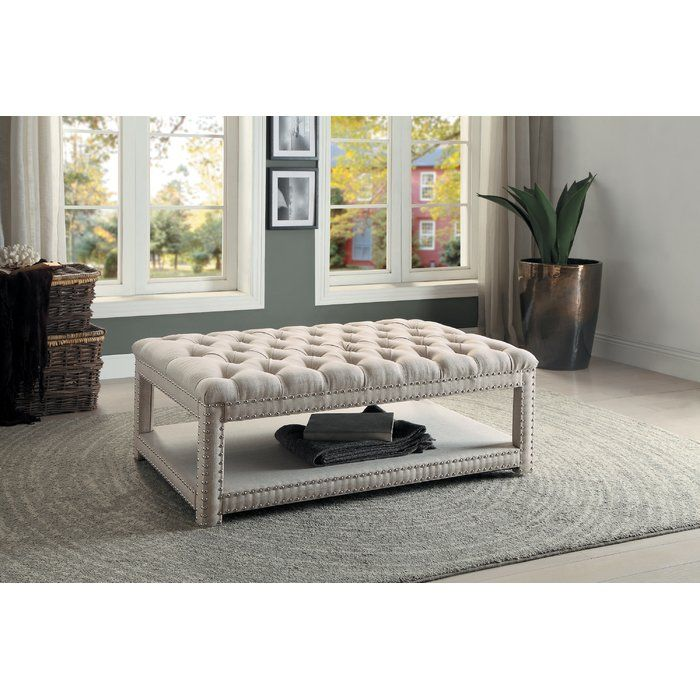 Outstanding Efrain Tufted Cocktail Ottoman Our First House In 2019 Ibusinesslaw Wood Chair Design Ideas Ibusinesslaworg