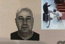 Това е шведския турист, който безпричинно ритна в главата камериерка в курорта Слънчев бряг, България /  А Swedish tourist beat a maid in Sunny Beach, Bulgaria