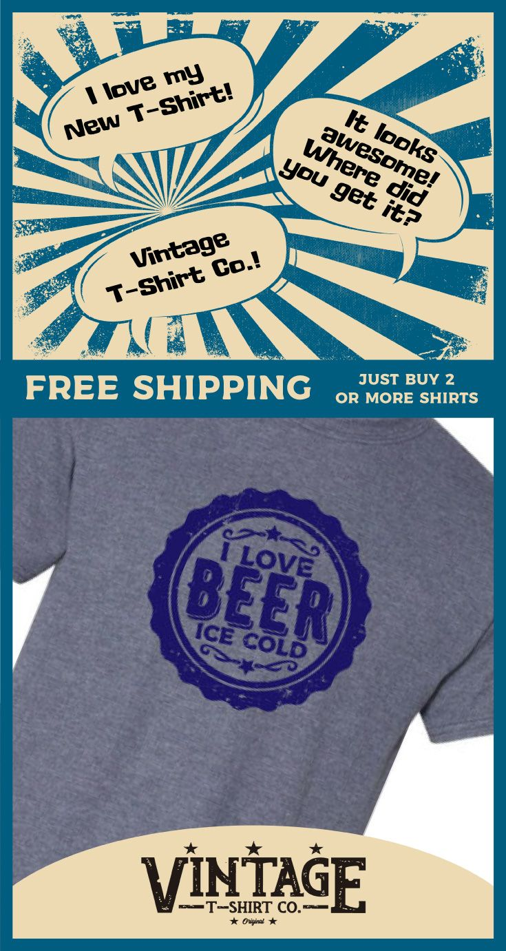 5052ea7a34 Beer cap | funny drinking t-shirt | T-shirts | Shirts, Funny tee ...