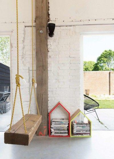verriere-atelier-loft-sol-beton-cire-poutre-apparente-mur-briques ...