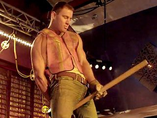 """ahhh Magic Mike..""""why can't our husbands (that work construction) look like that when they get home"""" @Lori Stalcar"""