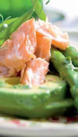 Laks med asparges i estragon | ISABELLAS