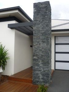 Ledge Stone Cladding Black Mica Schist @ http://decorstone.com.au/ledge-stone-cladding/l