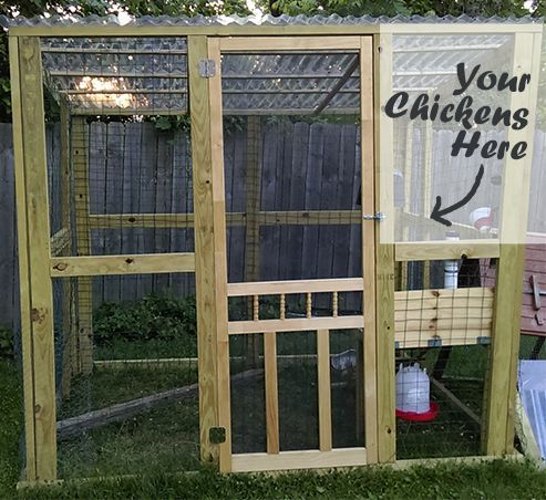 Building a Chicken Run DIY Project for Beginners Homesteading  - The Homestead Survival .Com