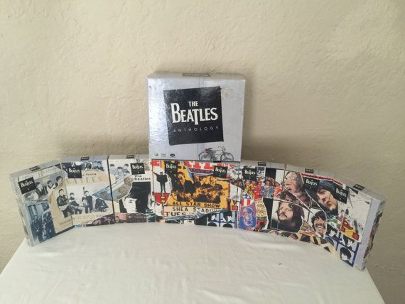 The Beatles Anthology 8 VHS Tape Music Video Boxed Set - Vintage VHS Tapes 1996 Apple Corps Turner Home Entertainment Capitol Records by NostalgiaRocks