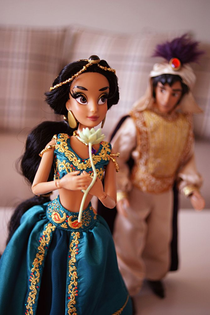Disney Fairytale Designer Collection Jasmine & Aladdin - Disnerd dreams