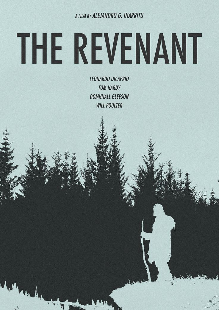 The Revenant (2015) ~ Minimal Movie Poster by Omer Aldemir #amusementphile