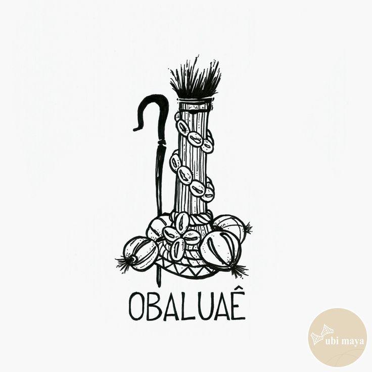 """OBALUAE - DA SÉRIE: """"AS ARMAS DOS ORIXÁS"""" - See https://s-media-cache-ak0.pinimg.com/originals/d7/d1/47/d7d14716777ee8a0cbb815483dab595e.jpg"""