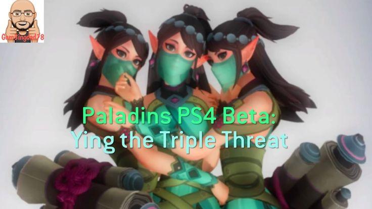 Paladins PS4 Beta: Ying The Triple Threat
