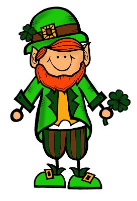 FREE Little Leprechaun Clipart :) Snatch him up! Personal and commercial use