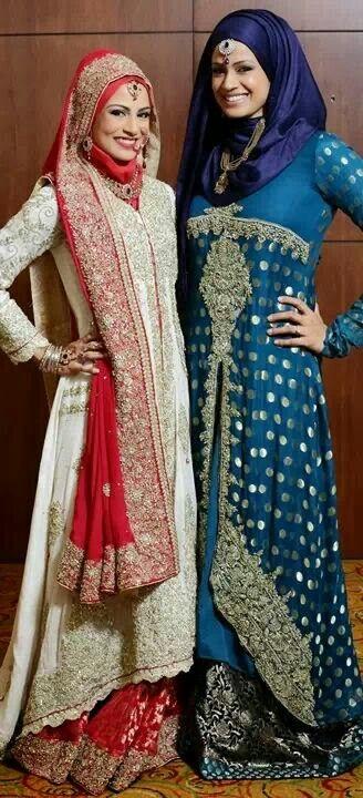 ❤️ #HijabiBride #SouthAsianBride இ Hijabi South Asian Brides