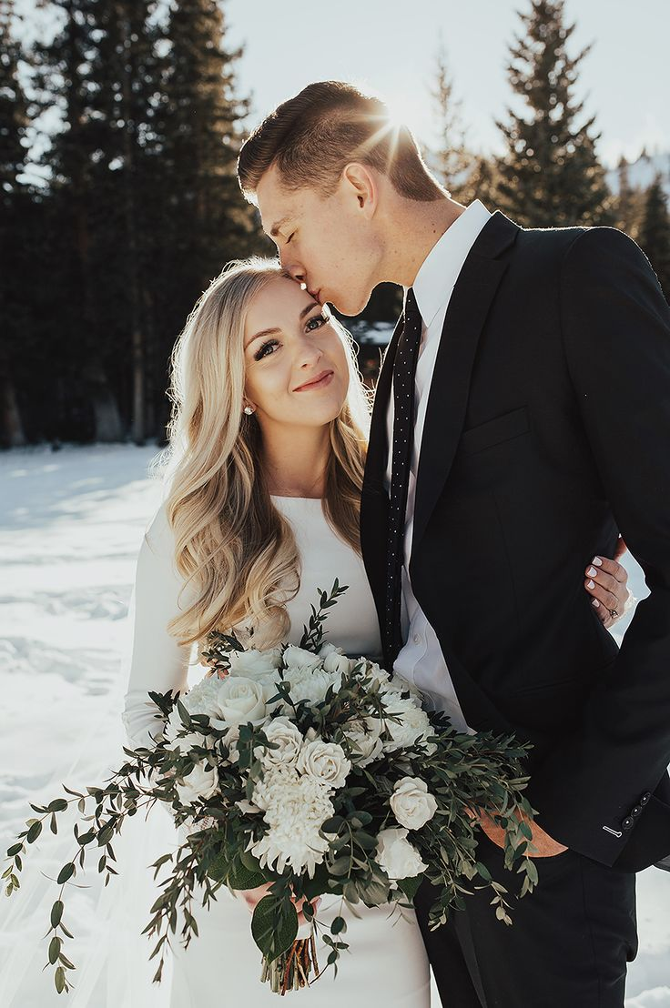 Winter Bridals / Utah Marriage ceremony Photographer » Summer time Taylor Pictures