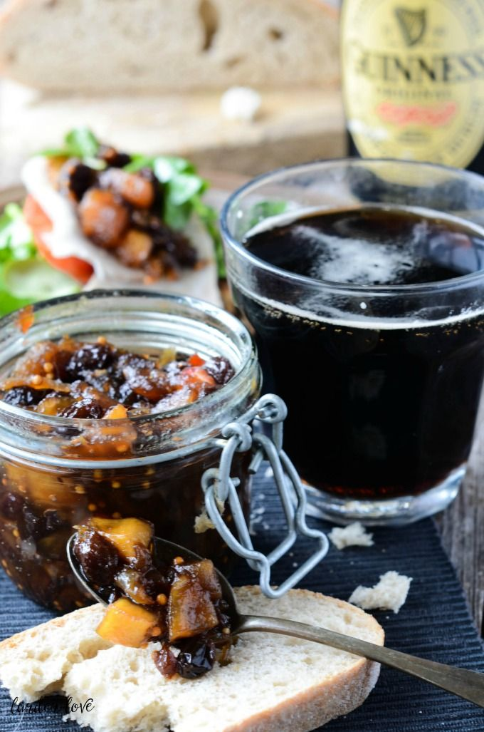 Guinness chutney with it's rich full flavor and touch of heat makes it a great addition to sandwiches, cold cuts and burgers too.