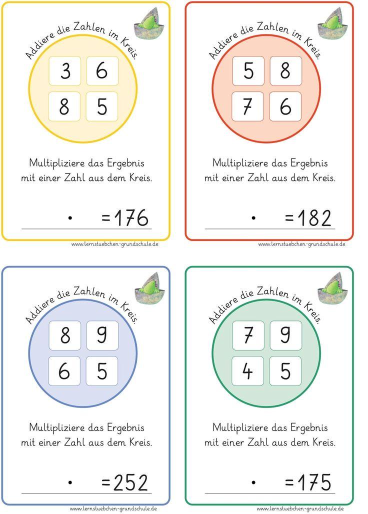 312 best Matheunterricht images on Pinterest | A4, Elementary ...