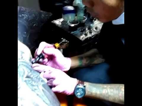 Swordsman Tattoo Studio Bali - YouTube