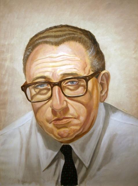 Henry Kissinger (by Philip Pearlstein) HENRY KISSINGER (1923) American Secretary of State