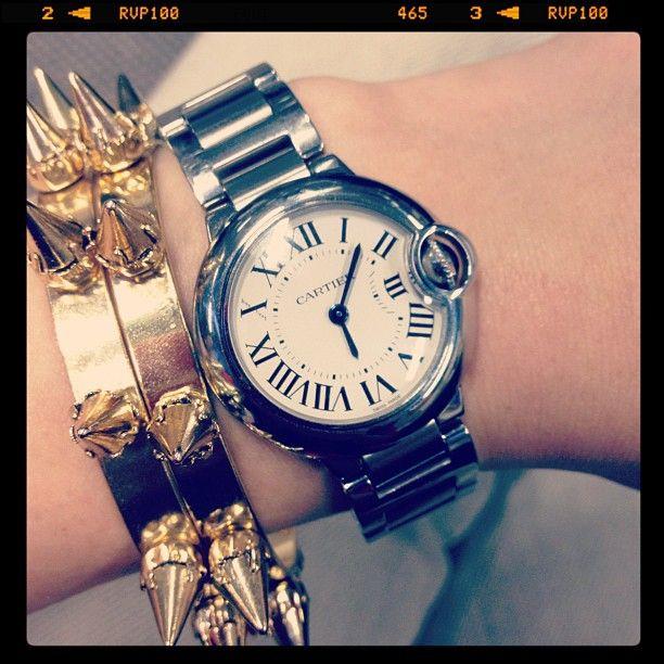 #Lyuksenburg #girl #watches #Cartier