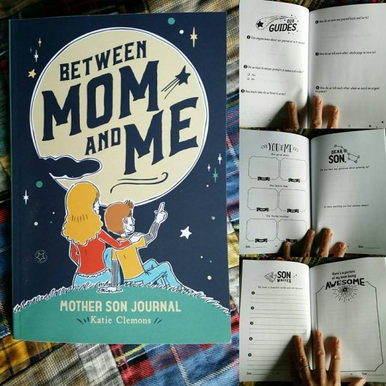 Awesome journal for mother and son - good way to connect with kids