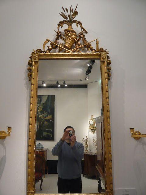 Sculpture Ornementale PATRICK DAMIAENS: Cadres de miroirs sculptés   L'histoire des cadres de miroirs sculptés   Cadre de miroir du style bois sculpté