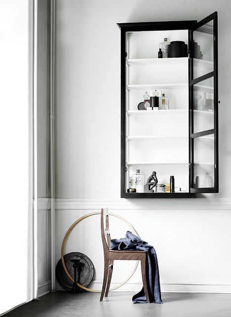 wall vitrine, love Lindebjerg Design   of course one could have some made like this if you're not anywhere near Denmark!