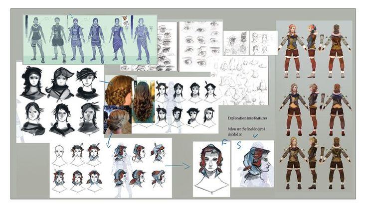 How to create a winning portfolio for Game Art Design