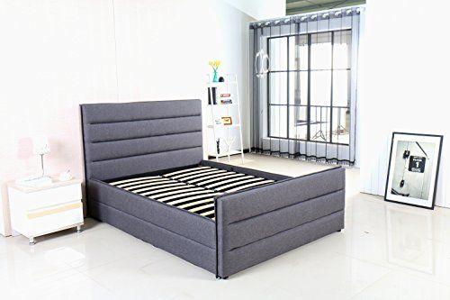 MODERNIQUE® Amore Grey Fabric King Sized Bed with Ottoman... https://www.amazon.co.uk/dp/B01MRW5BZU/ref=cm_sw_r_pi_dp_x_4VOUybJ99PEJE