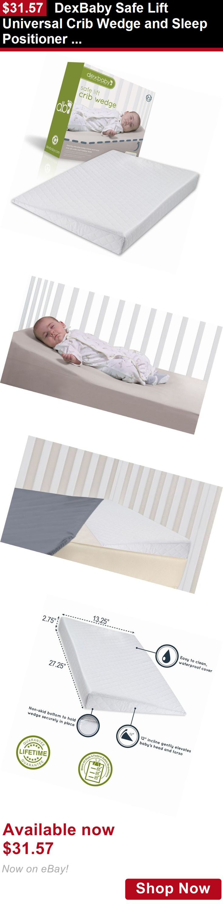 Crib Wedge And Sleep Positioner For Baby Mattress BUY IT NOW ONLY
