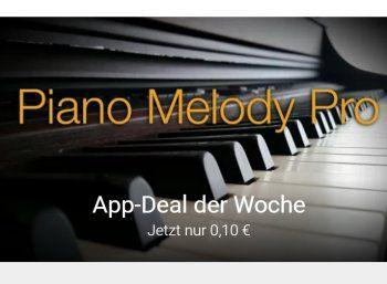 """Google Play: """"Piano Melody Pro"""" jetzt für 10 Cent zu haben https://www.discountfan.de/artikel/tablets_und_handys/google-play-piano-melody-pro-jetzt-fuer-10-cent-zu-haben.php Mit """"Piano Melody Pro"""" ist jetzt im Play Store eine gut bewertete App mit über 600 Titeln aus verschiedenen Epochen fürs Klavier zum symbolischen Preis von zehn Cent zu haben. Google Play: """"Piano Melody Pro"""" jetzt für 10 Cent zu haben (Bild: Google Play) Die App &#... #App,"""