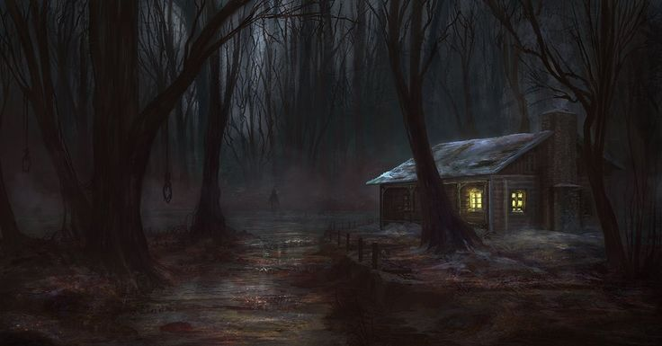 Scary woods photo edit - If You Go Down To The Woods Today By Jackeavesart Q