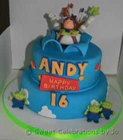 Buzz Lightyear Stencil Cakes