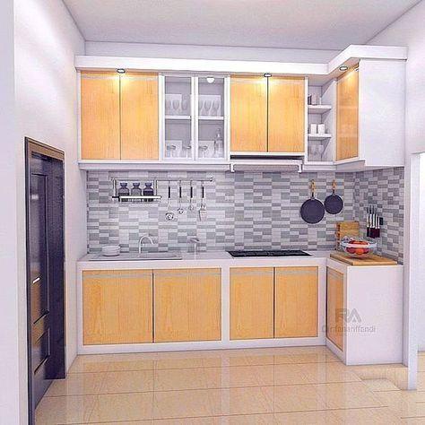Kitchen Set Minimalis Terbaru Ide Rumah Mungil Pinterest