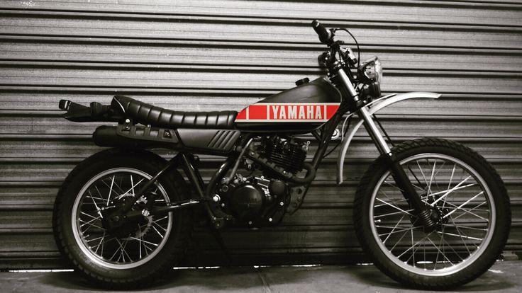 Tank Idea For Final Look Xt250 Yamaha Scrambler Scrambler Scrambler Motorcycle Stunt Bike