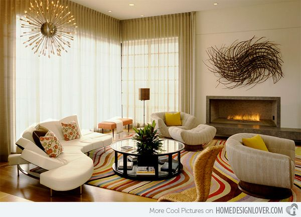 15 Curved Modular and Sectional Sofa Designs | Home Design Lover