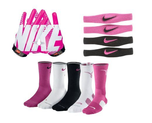 Pink football gear for Breast Cancer Awareness Month! | PINK! The ...
